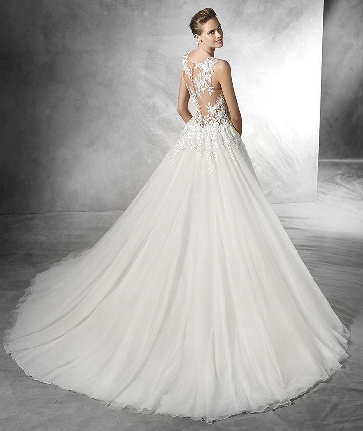 vestido de novias pronovias taciana