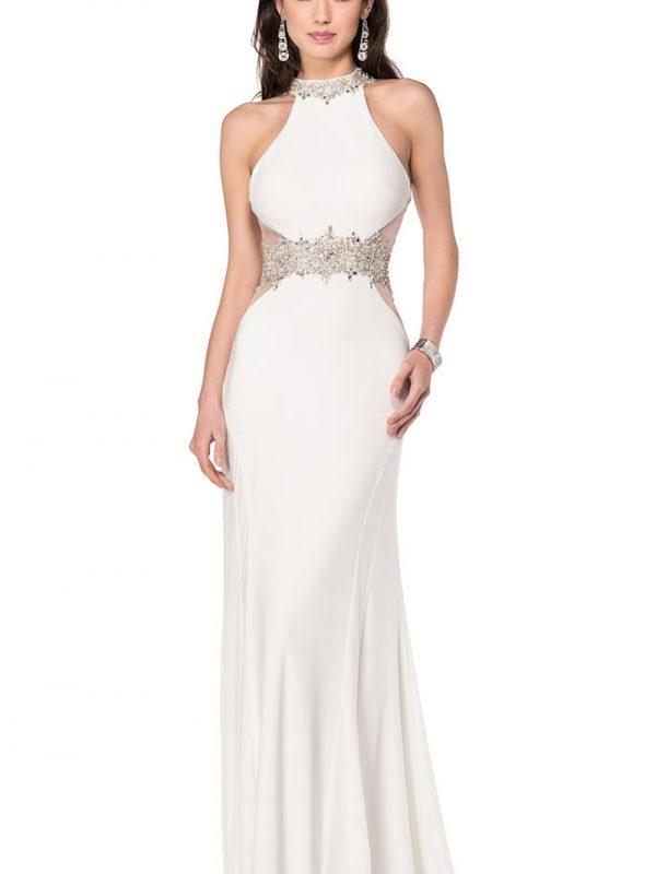 Vestido De Fiesta Blanco 1267