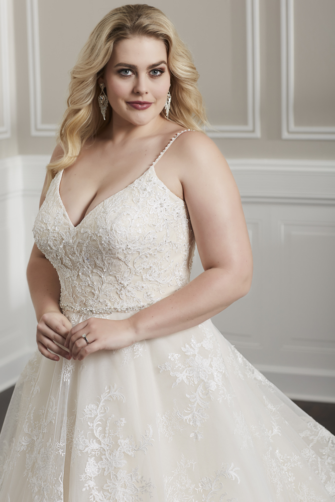 vestido de novias plus