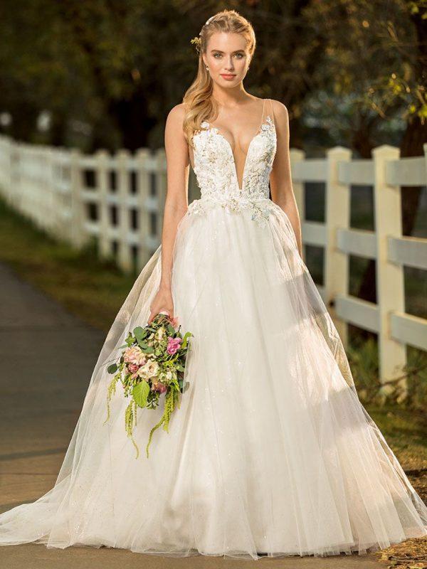 Modelo Princesa En Vestidos De Novia