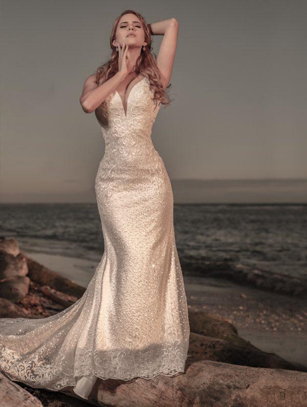 vestido de novia Mar