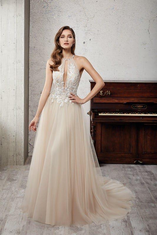 vestido de novia de acuerdo al cuerpo