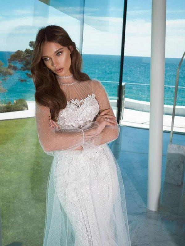 Vestido de novia boho