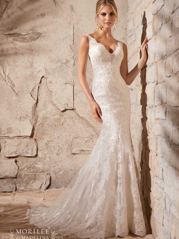 Vestido de novia Mori Lee 2708