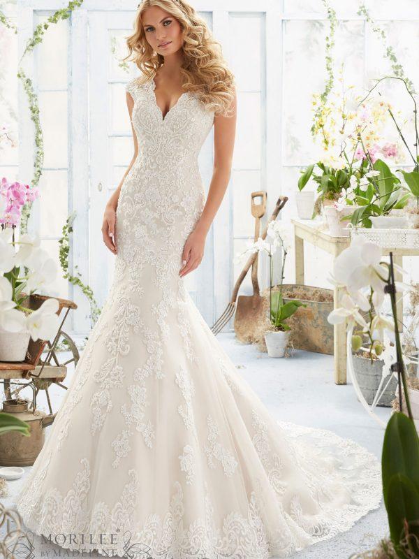Vestido de novia Mori Lee 2806