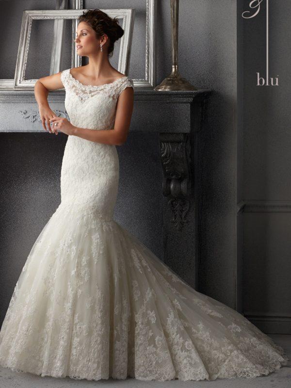 Vestido de novia Mori Lee 5265