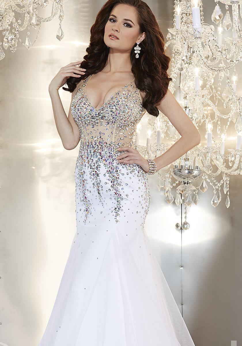vestido de fiesta sirena