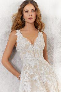 vestido princesa de novia moderna