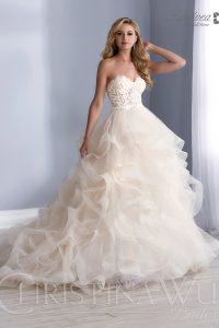 Falda para vestido de novia