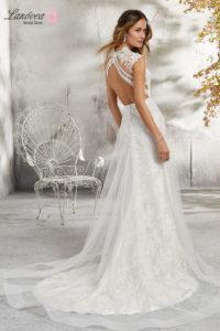 Sensual espalda de novia