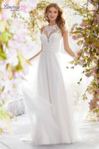 traje de novia para la playa