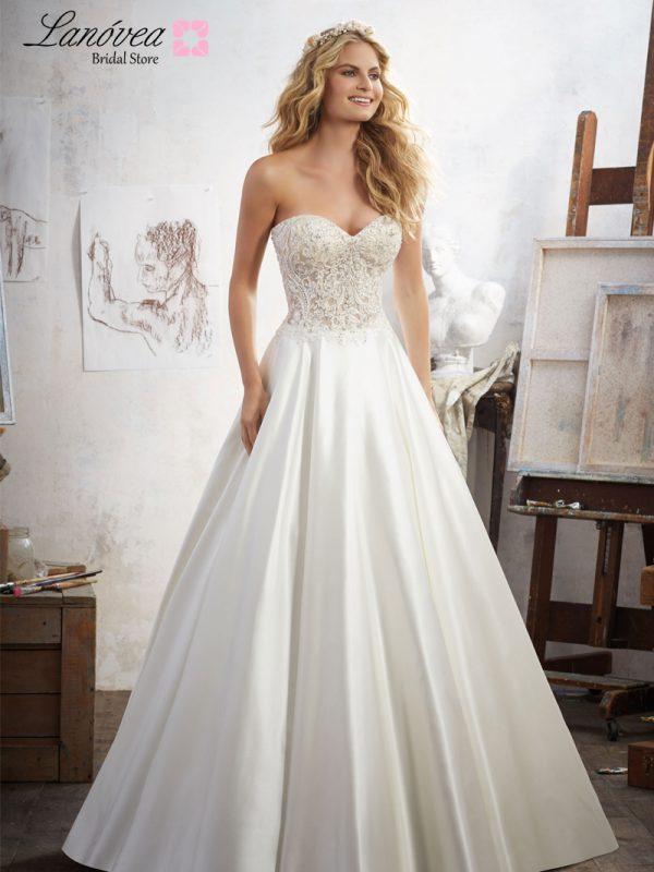 Vestido de novia elagante