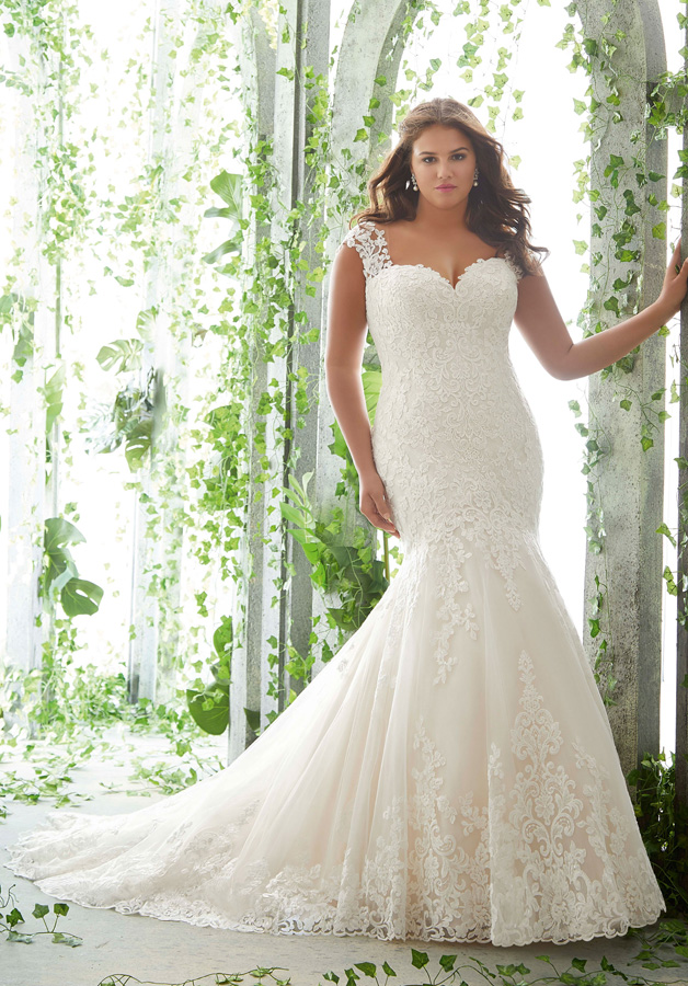 wedding dress plus