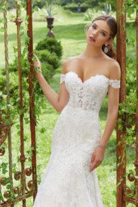 Vestido de novias romántico