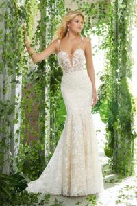 Vestido de novia presley