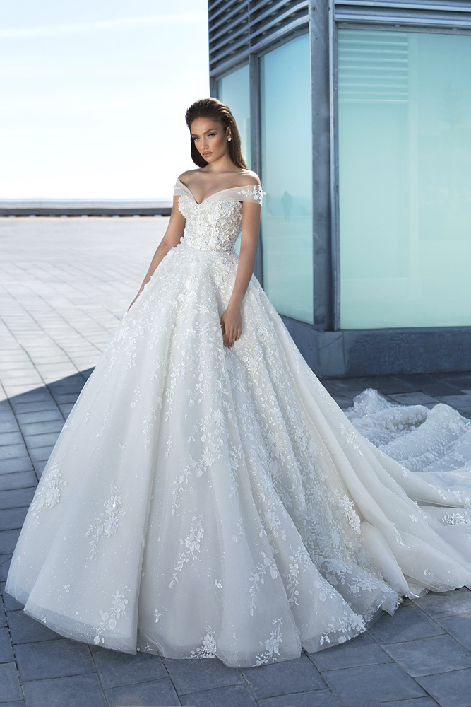 princess bridal gown