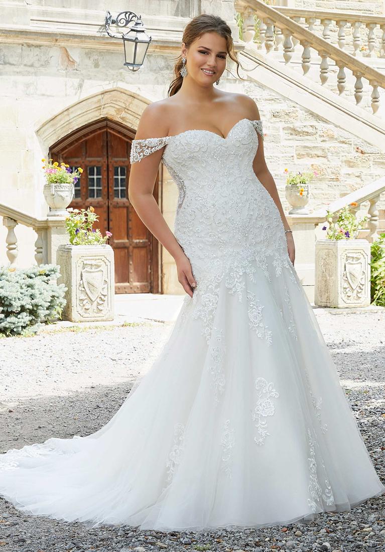 vestido de novia plus size