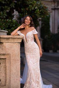 Sensual vestido de novias