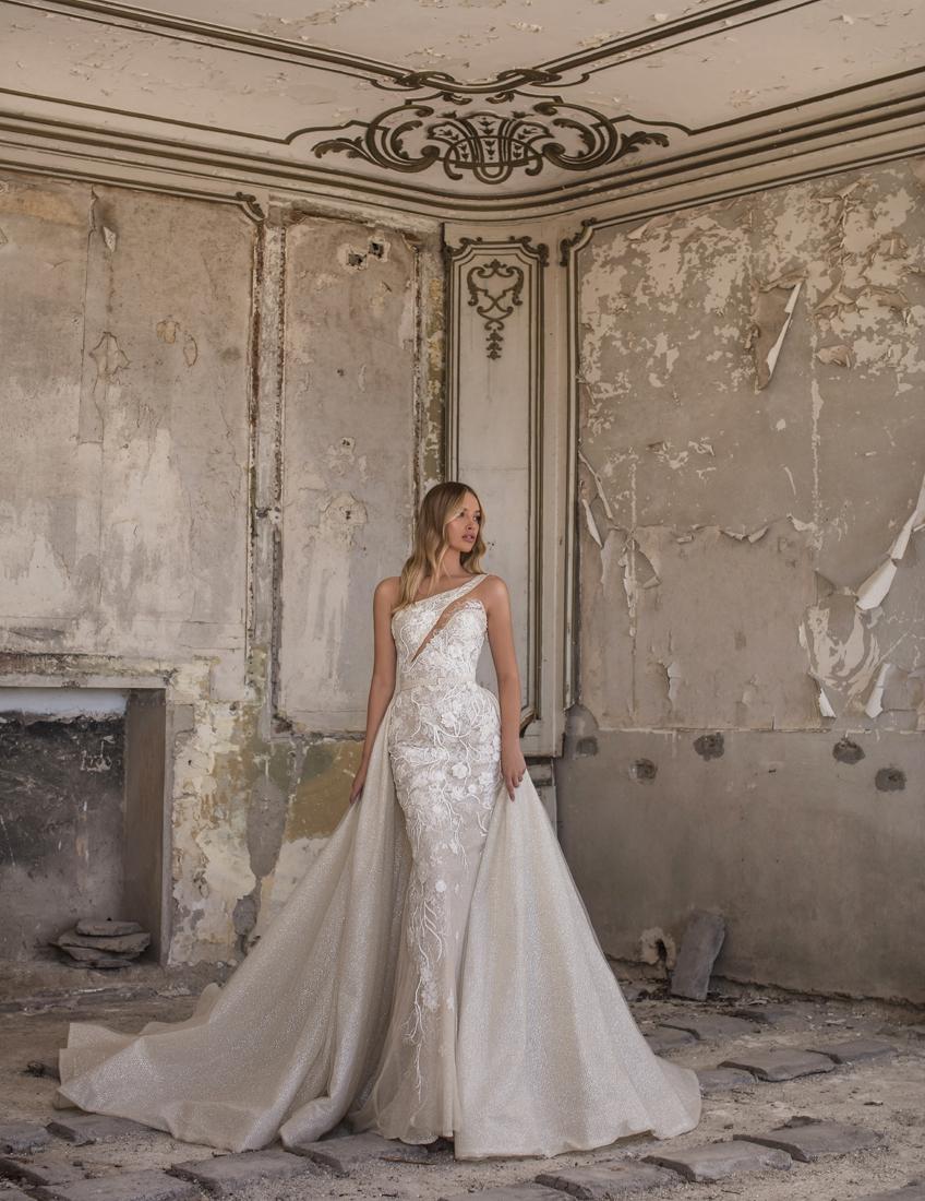 Vestido de novia contemporáneo