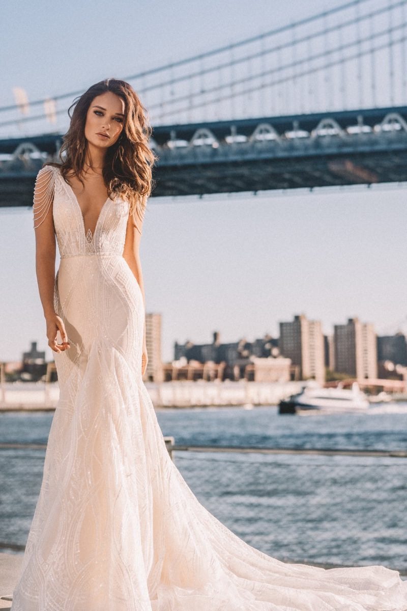 Vestido Novia Elly Fleur