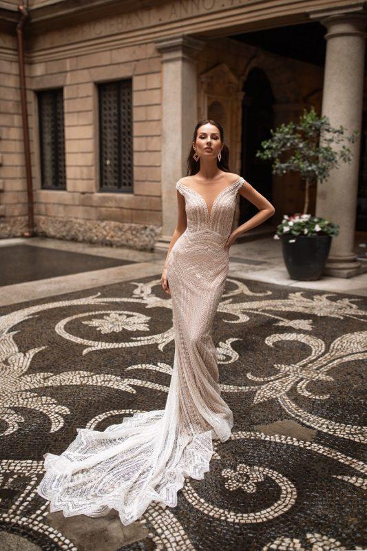 Vestido Novia Pollardi Alba